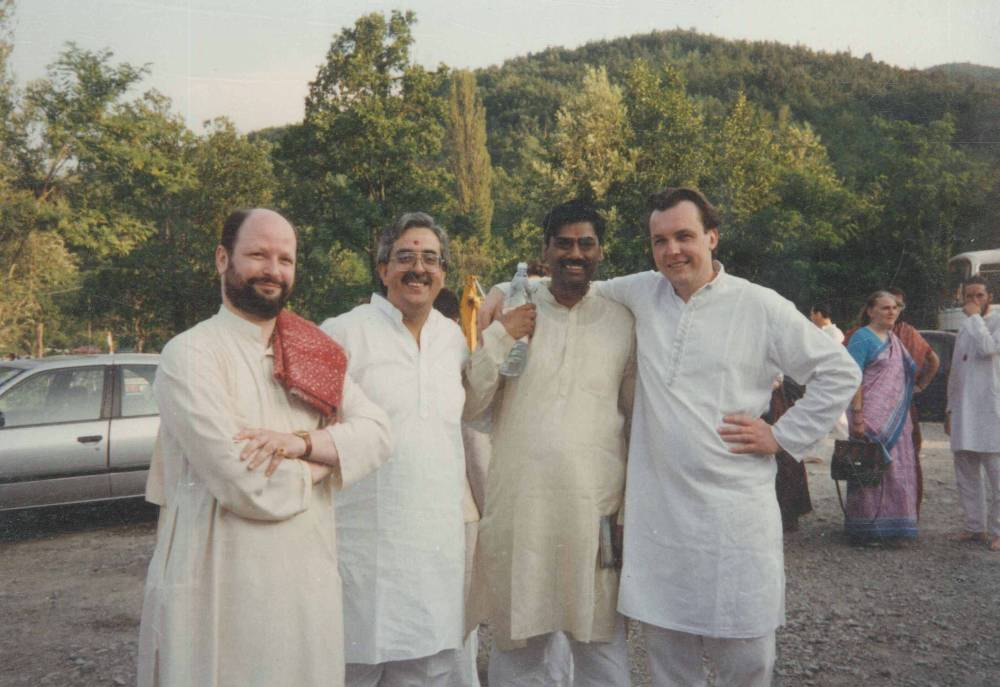 Switzerland Puja near Geneva