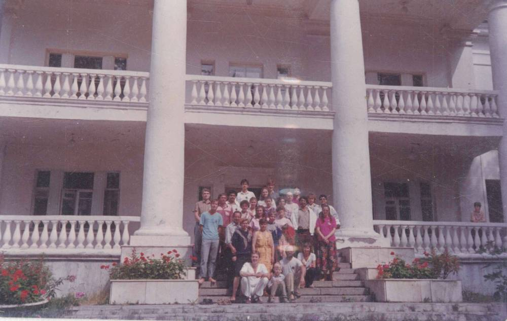 At St Petersberg Royal Government Residence where we stayed 1992