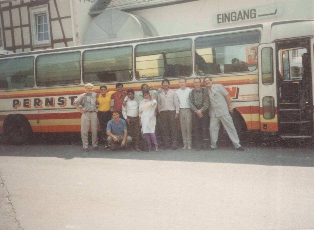 Bus Journey from Milan to Moscow 1991