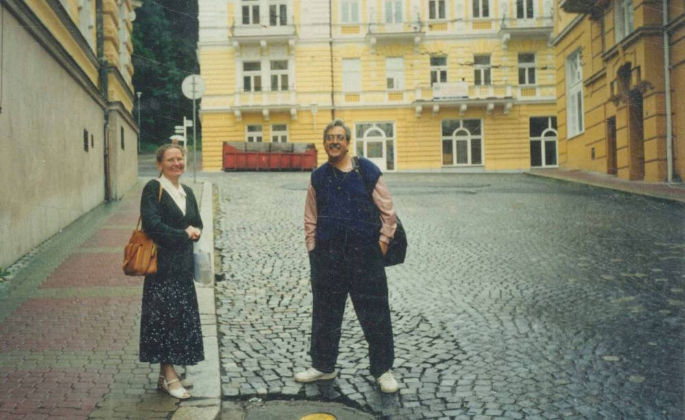 On the pebbled streets of Prague