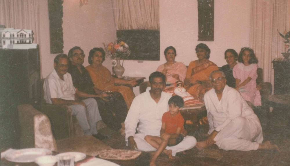At Home with Dr Nigam & my family